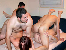 Group sex swinger parties shot on killer hot free orgy porn videos where real amateur swingers plunge into the raunchy XXX action until the ecstasy