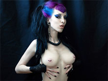 Free gothic porn tube full of goth porn XXX videos where horny goth girls are having sex with massive cock and punk chicks have their punk rock pussy fucked