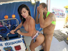Public sex and nudity videos with crazy couples having sex outdoors. See also real girls shaking ass and then fucked and disgraced in public places