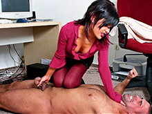 Ballbusting porn videos – girls torture, dominate, kicked, squeeze and pinch guys balls.