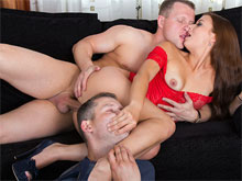 Real homemade cuckold videos where husband watches his wife having sex with other men. Chick cheats on her husband and he films it . crazy world indeed