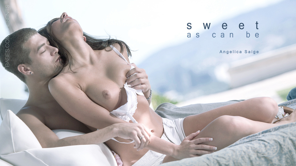 Angelica Saige in Sweet As Can Be Video