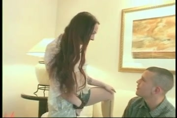 Erect shemales dick sucking before anal