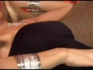 blonde tranny with huge tits is your sexual dream