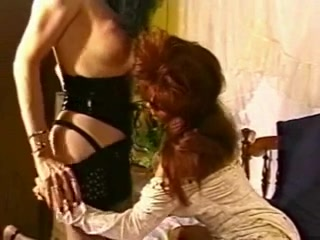 Redhead tart for a mature shemale