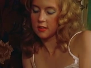 Lesbian sex scene from a sexy vintage porn movie