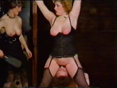 BBW babe used like a slut in his vintage BDSM movie