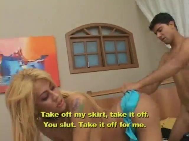 Fetished tranny seduced a worker