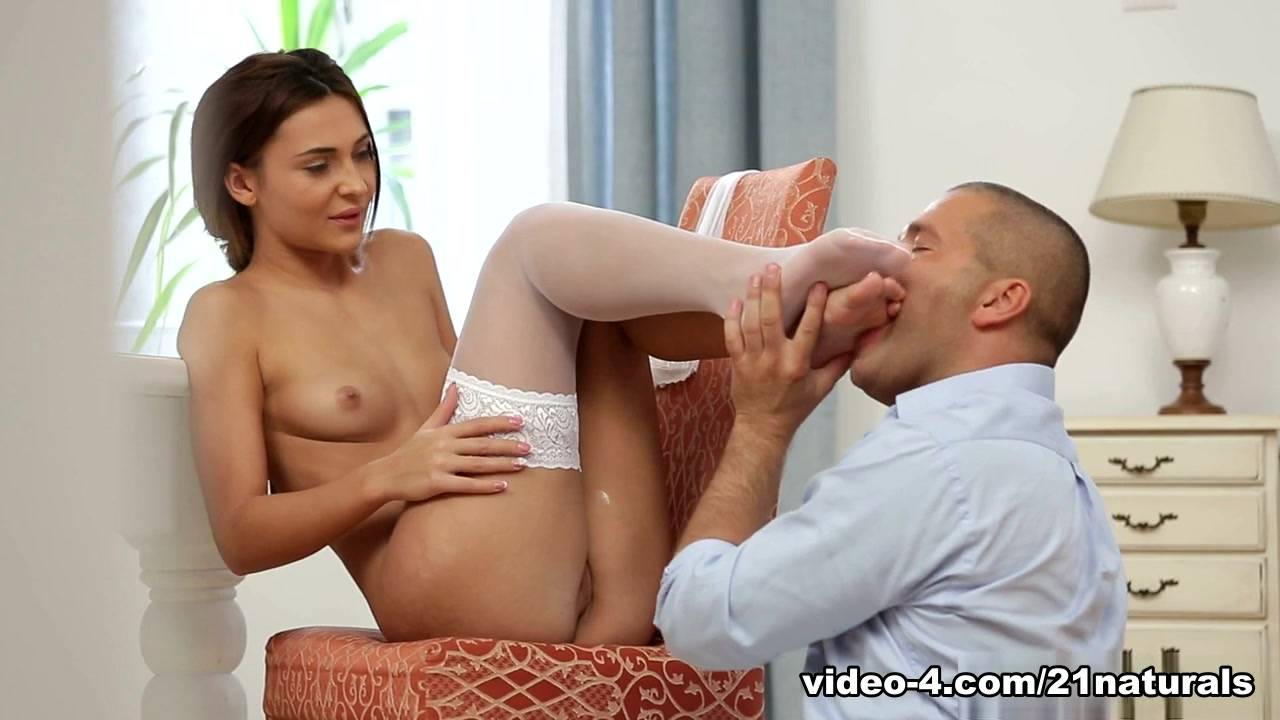 Alexis Brill in Only in thigh highsVideo