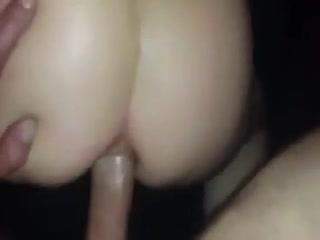Very loud homemade anal sex