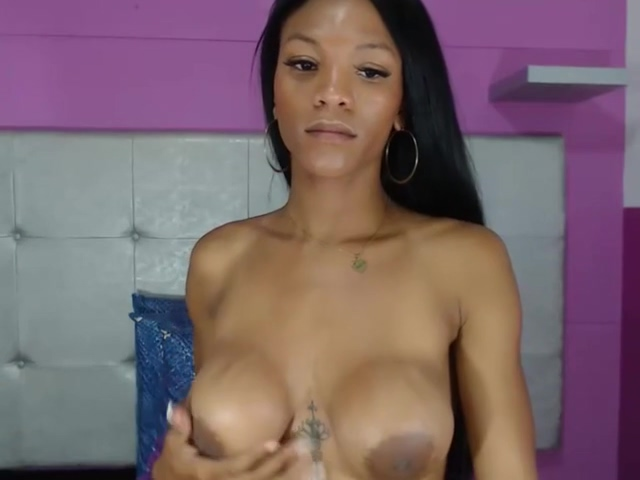 Video 974684304: ladyboy solo play, ebony shemale solo, solo ass play