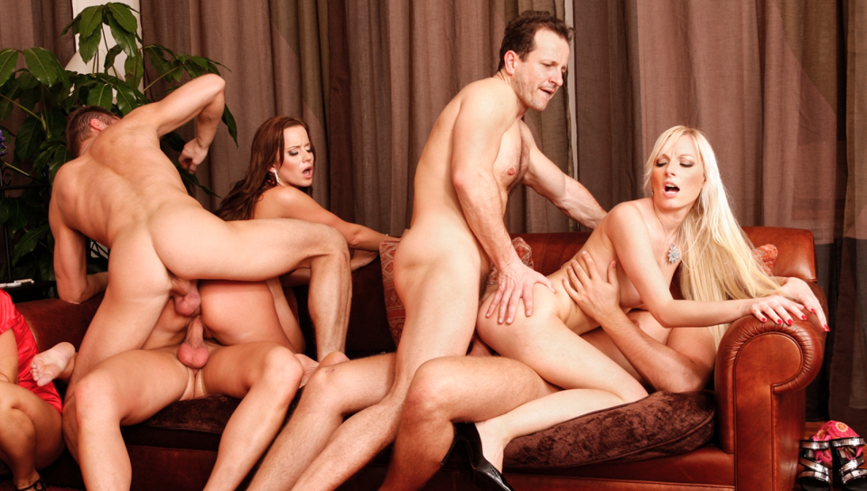 cindy dollar, simone style, rachel evans, lena cova in 5 incredible orgies, scene # 05