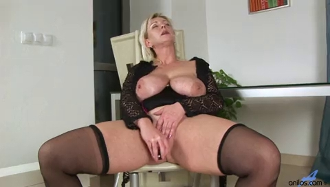 Large titted golden-haired bonks and sucks her sex tool.