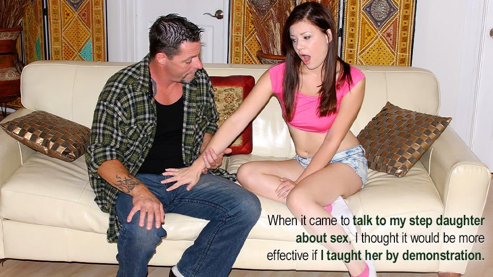Alison Rey in Teaching His Step Daughter Movie