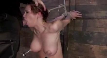 Sensual Natural Tits Bondage Orgasm BDSM Babe