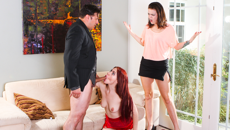 Jessica Ryan & Tristan Berriman & Anthony Rosano in My Husband Brought Home His Mistress #03, Scene #02
