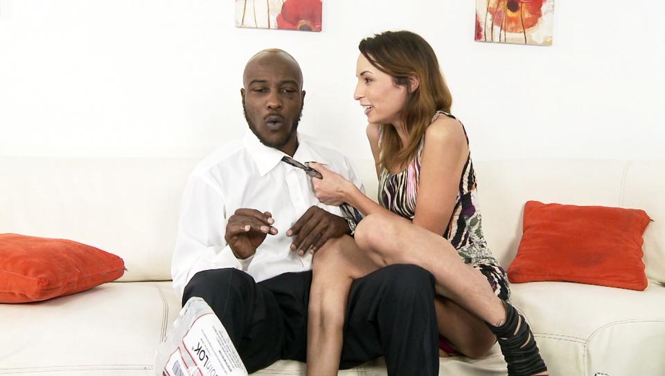 Amber Rayne & Wesley Pipes in My New Black Stepdaddy #14, Scene #02