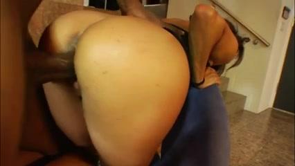 Crazy Big Butt scene with Big Dick,Interracial scenes