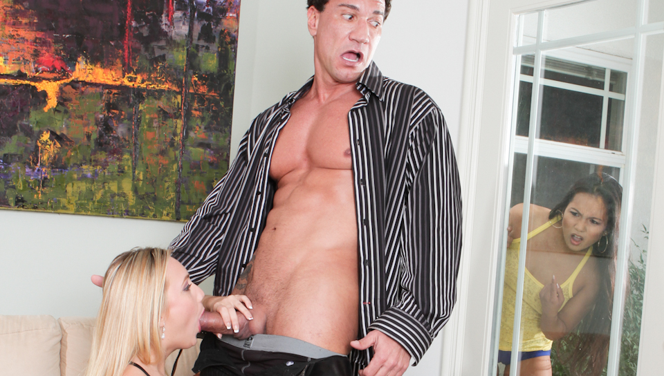 Lana Violet,AJ Applegate,Marco Banderas in My Husband Brought Home His Mistress, Scene #03