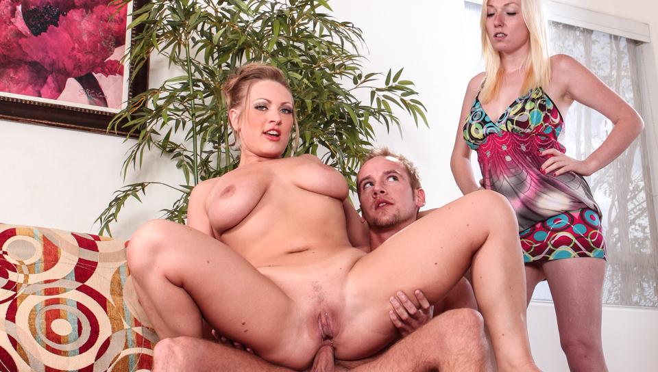 vicky vixen, tegan riley in my wife caught me assfucking her mom # 03, scene # 01
