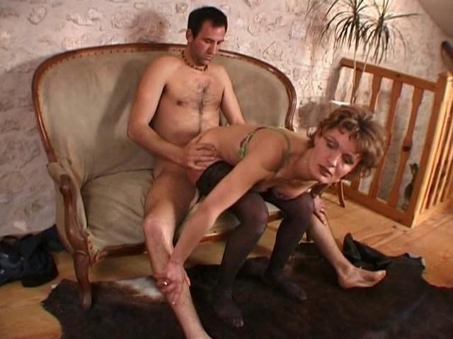 порно мамка французская анал