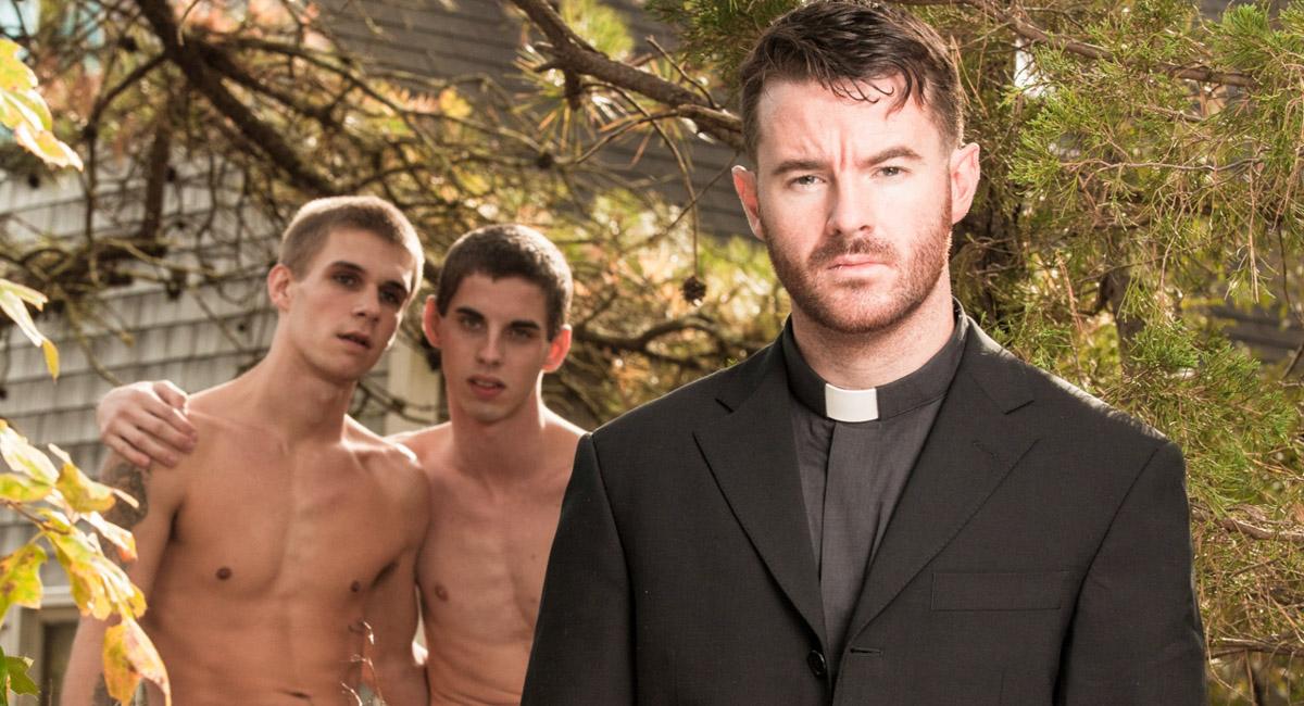 Sam Truitt & Brendan Patrick & Trent Ferris in Forgive Me Father 2 Video
