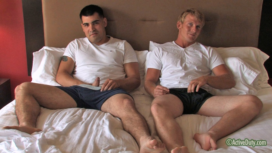 Alan & Brock Military Porn Video