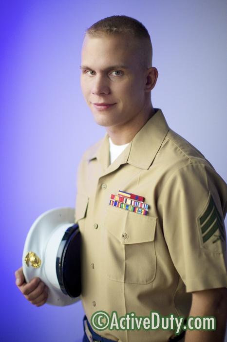 Shawn - Solo Military Porn Video