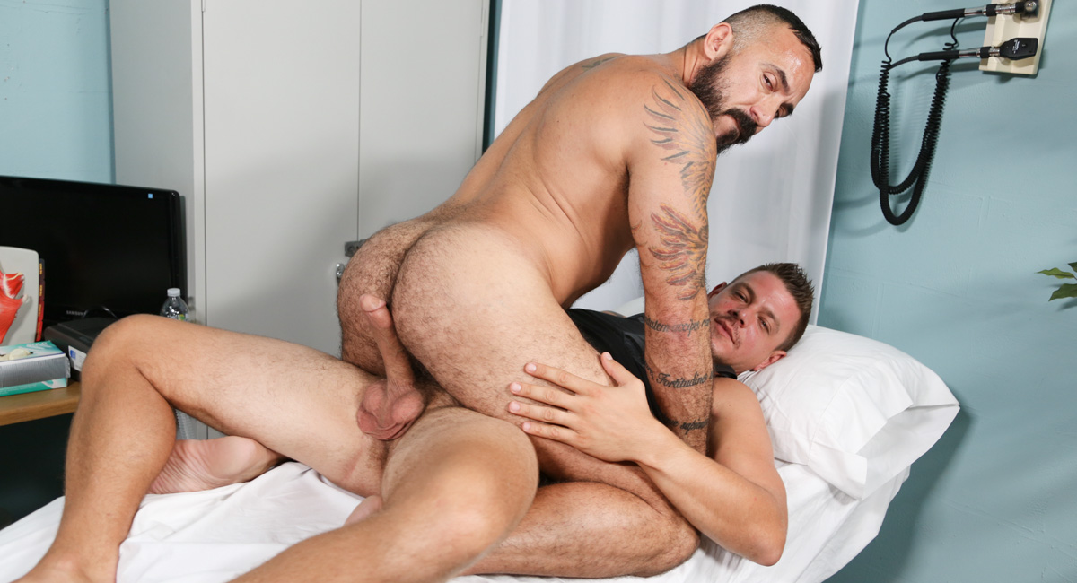 Alessio Romero & Jace Chambers in Bedside Manner Part 1 Video