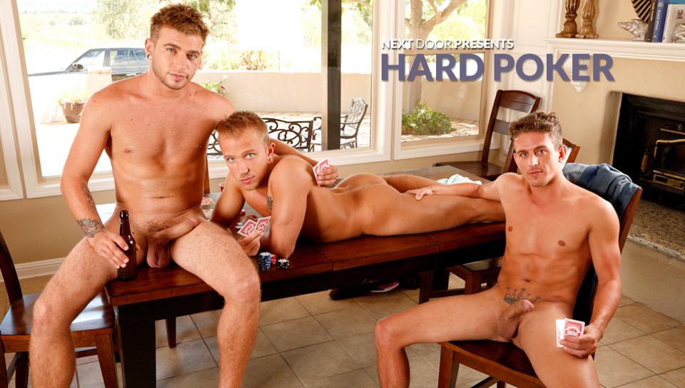 Rob Ryder & Alexander Gustavo & Alex Greene in Hard Poker XXX Video