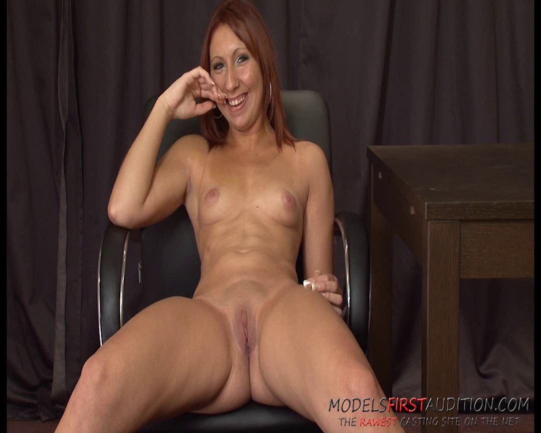 ModelsFirstAudition sweetheart Cara Hard gives a great casting