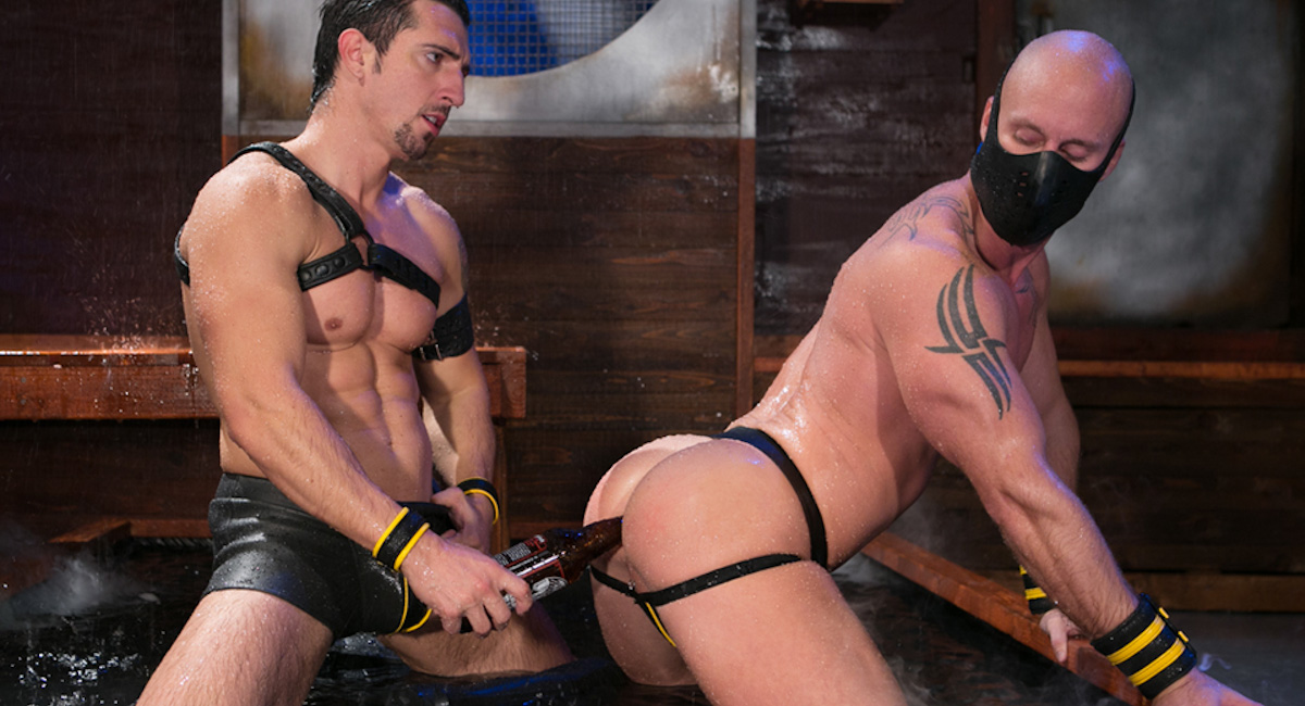 Jimmy Durano & Mitch Vaughn in The Dom Scene
