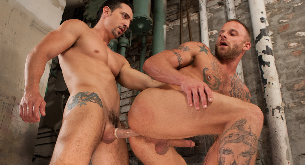 Jimmy Durano & Derek Parker in Tools Of The Trade Scene