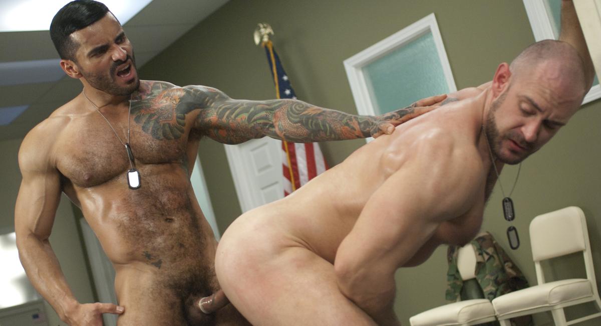 Alexsander Freitas & Craig Reynolds in Major Asshole Scene