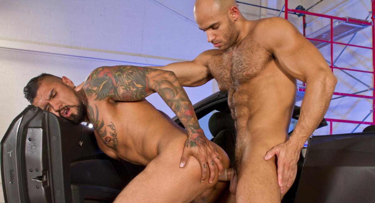 Boomer Banks & Sean Zevran in Auto Erotic, Part 2 Video