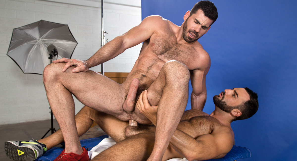Billy Santoro & Abraham Al Malek in Ass To Grind Video