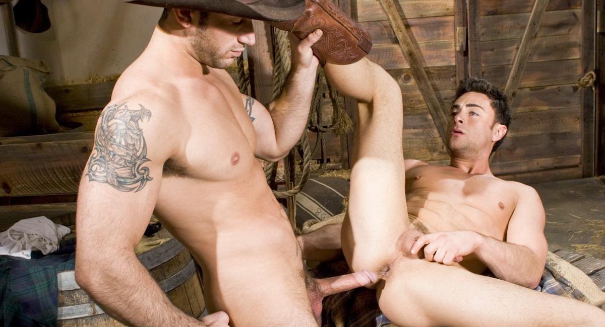 Порно фото ковбой