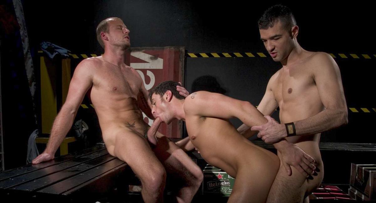Luke Hass & Scott Tanner & Tristan Phoenix in Hotter Than Hell Part 1, Scene #02
