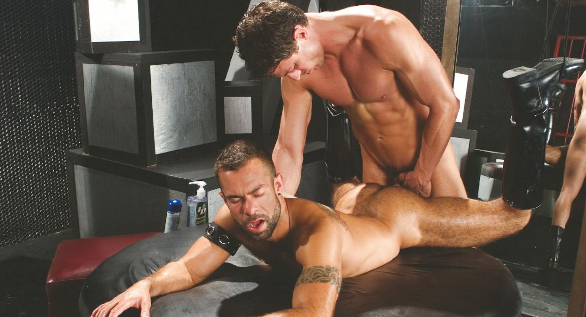 Steve Cruz & Victor Steele in Savage, Scene #01