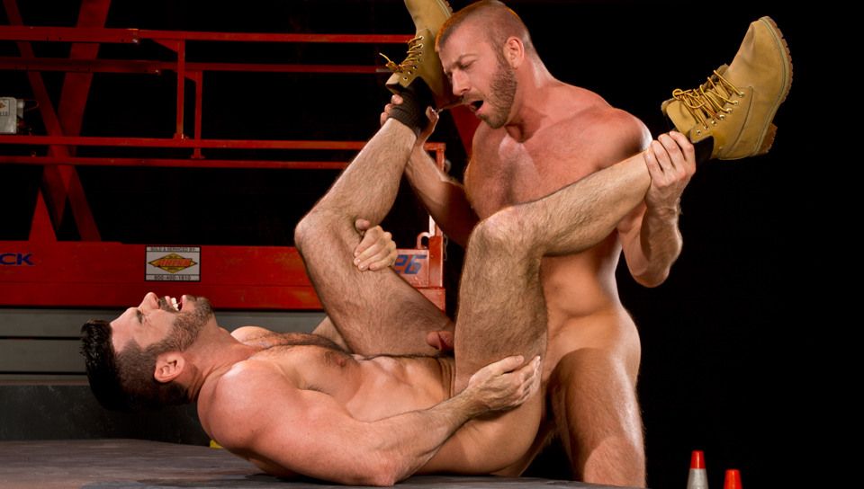 Clusterfuck! 2 XXX Video: Hunter Marx, Billy Santoro