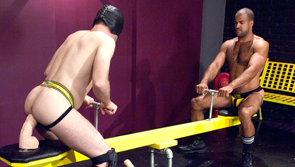 Jack Often & Roman Wright in Fisting Playground 1, Scene #04