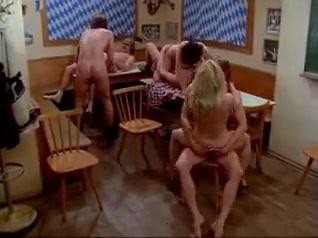 Vintage big tits have fun at pub...