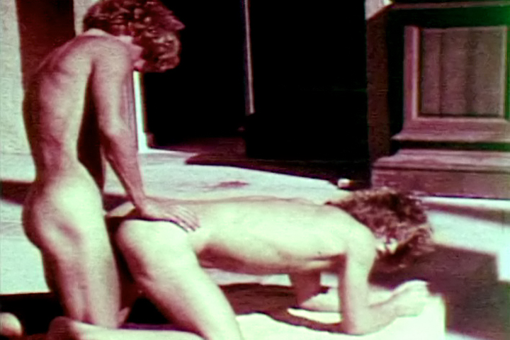 VintageGayLoops Video: Poolside Erotic