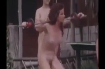 Retro Nudist Camp