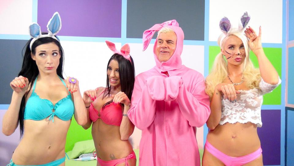 marsha mai & tiffany star & dsnoop in sexy bunnies gigi allens, aiden ashley and dava fox video