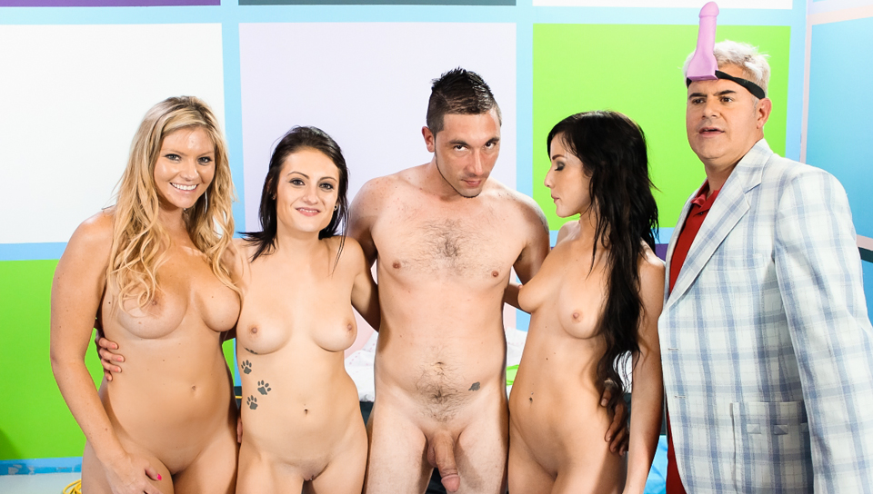 Jennifer White,Brianna Brooks,Chase Ryder,Porno Dan in One Whore For Every Month Without Pussy! Video