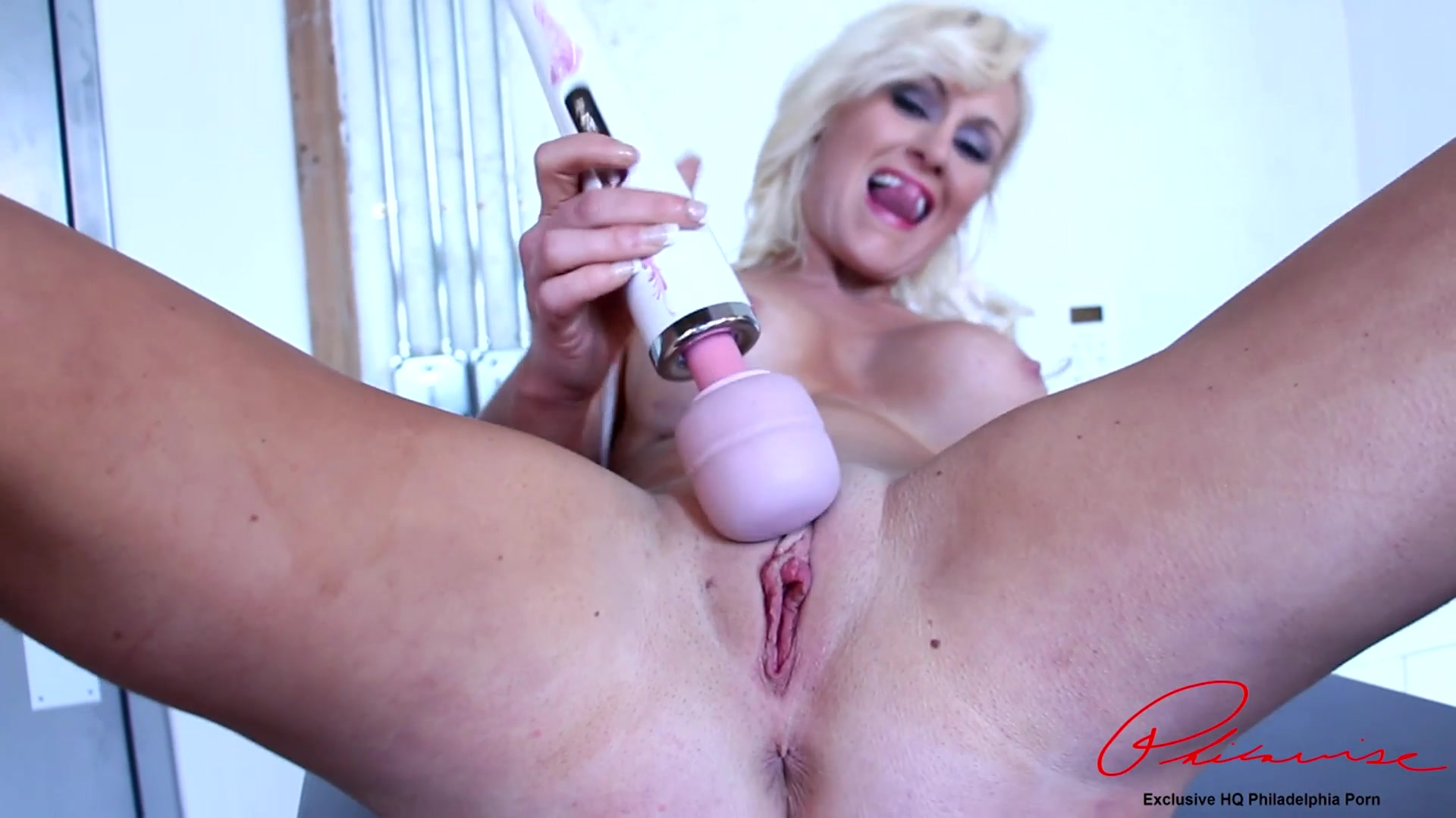 big tit blonde rachel harley in a sexy solo with toys