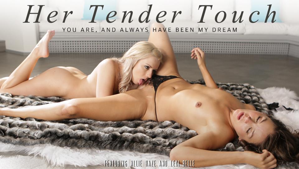 Allie Haze & Lexi Belle in Her Tender Touch Video