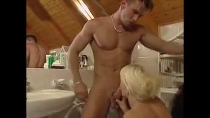 Blonde Girl Bathroom Sex