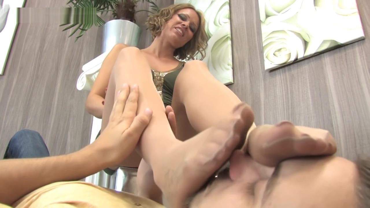 Video 1132746904: nylon feet pantyhose, nylon feet lady, german foot fetish, foot fetish stockings, foot fetish hd, forces guy, tattoo foot